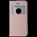 Etui Folio Fenetre Rose pour Apple iPhone 6/6S Plus