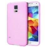 Coque TPU Glossy Rose pour Samsung S5