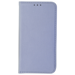 Etui Folio Magnet Argent pour Samsung S6