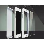 Coque 360 + Verre Trempe pour Samsung J1 2016 Blanc
