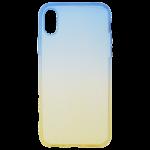 Coque Caméléon Bleu/Or pour Apple iPhone X / XS