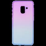 Coque Caméléon Violet/Bleu pour Samsung A8 2018