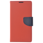 Étui Folio CyFan Rouge/Bleu pour Samsung Xcover 4