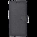 Étui Folio CyFan Noir pour Sony XZ2 Compact