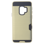 Coque Defender Card Or pour Samsung S9