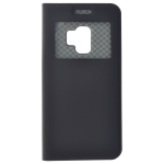 Étui Folio Fenêtre Noir pour Samsung S9