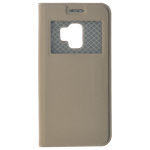 Étui Folio Fenêtre Or pour Samsung S9
