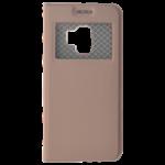 Étui Folio Fenêtre Rose pour Samsung S9
