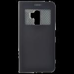 Étui Folio Fenêtre Noir pour Samsung S9 Plus