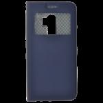 Étui Folio Fenêtre Bleu pour Samsung S9 Plus