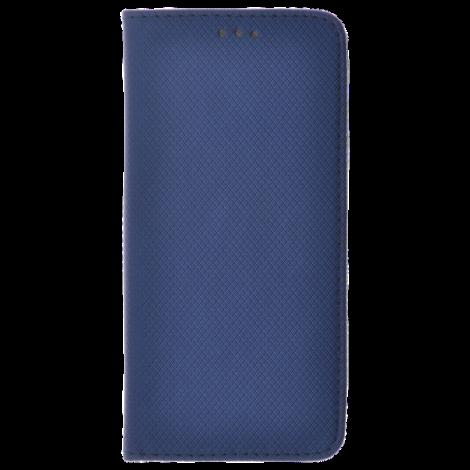 Étui Folio Magnet Bleu pour Huawei Y5 2018
