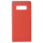 Coque Silicone Liquide Rouge pour Samsung Note 8
