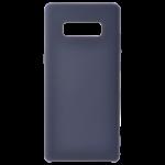 Coque Silicone Liquide Bleu pour Samsung Note 8