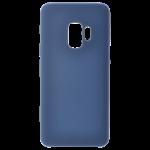 Coque Silicone Liquide Bleu pour Samsung S9