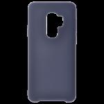 Coque Silicone Liquide Bleu pour Samsung S9 Plus