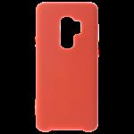 Coque Silicone Liquide Rouge pour Samsung S9 Plus