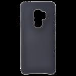 Coque Silicone Liquide Noir pour Samsung S9 Plus