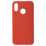 Coque Silicone Liquide Rouge pour Huawei P20 Lite