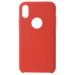Coque Silicone Liquide Rouge pour Apple iPhone XR