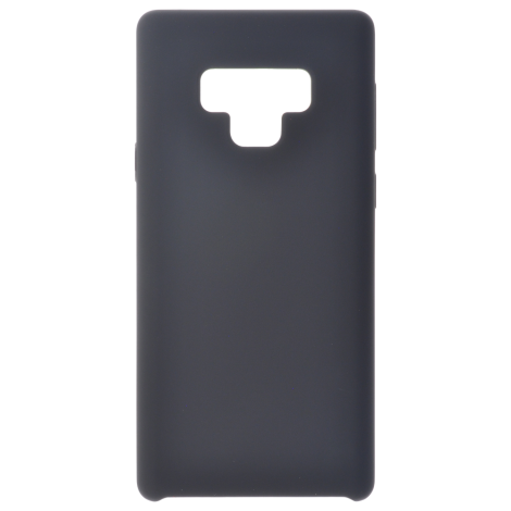 Coque Silicone Liquide Noir pour Samsung Note 9