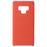 Coque Silicone Liquide Rouge pour Samsung Note 9