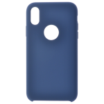 Coque Silicone Liquide Bleu pour Apple iPhone XR