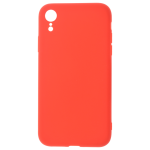 Coque TPU Soft Touch Rouge pour Apple iPhone XR