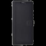 Étui Folio Star Clippers Cuir Noir pour Samsung S9