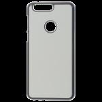 Coque Rigide Noir et plaque Alu pour Huawei Honor 8