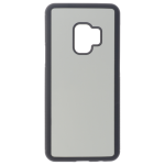 Coque Souple Noir et plaque Alu pour Samsung S9