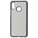 Coque Rigide Noir et plaque Alu pour Huawei P20 Lite