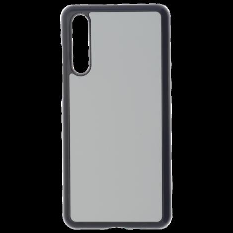 Coque Rigide Noir et plaque Alu pour Huawei P20 Pro