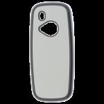 Coque Rigide Noir et plaque Alu pour Nokia 3310 (2017)