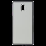 Coque Rigide Noir et plaque Alu pour Nokia 3