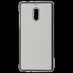Coque Rigide Noir et plaque Alu pour Nokia 6