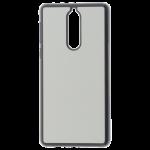 Coque Rigide Noir et plaque Alu pour Nokia 8