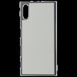 Coque Rigide Noir et plaque Alu pour Sony XZ1