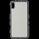 Coque Souple Noir et Plaque Alu pour Apple iPhone XS Max