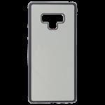 Coque Souple Noir et plaque Alu pour Samsung Note 9