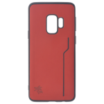 Coque Trendy Rouge pour Samsung S9