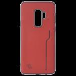 Coque Trendy Rouge pour Samsung S9 Plus