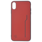 Coque Trendy Rouge pour Apple iPhone XS Max