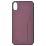 Coque Trendy Violet pour Apple iPhone XS Max