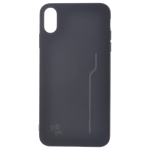 Coque Trendy Noir pour Apple iPhone XS Max