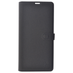 Etui Folio Trendy Gris Pour Samsung S9