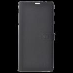 Etui Folio Trendy Gris Pour Samsung S9 Plus
