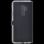 Etui Folio Trendy Noir Pour Samsung S9 Plus