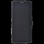 Étui Folio Trendy Noir pour Samsung J6 Plus 2018