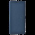 Étui Folio Trendy Bleu pour Samsung A7 2018