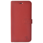 Étui Folio Trendy Rouge pour Huawei Honor 10 Lite